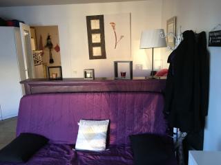 Studio au bord de mer, pour 4 personnes, climatisé, Menton