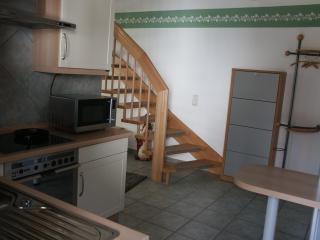 Küche Treppenaufgang