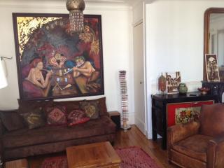 Montmartre artist apartment 120m², París