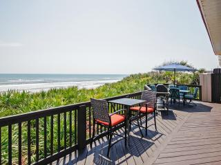 Oceanfront 3BR Flagler Beach House w/ Deck Views!