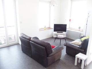 Le salon avec deux canapés très confortable.