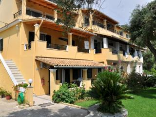 Self catering Apartment with sea view at Lidovois House in Pelekas Beach,Corfu.