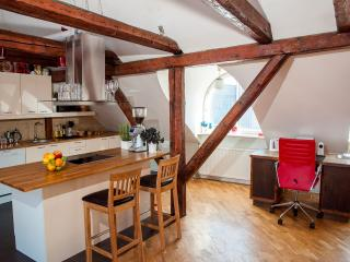Penthouse in Medieval Building with stunning view, Tallinn