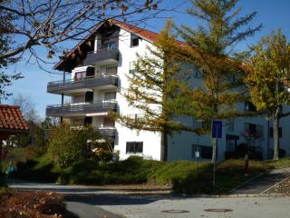 Ferienwohnung mit Bergblick-Balkon, Sauna, WLAN...