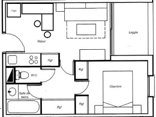 Joli petit appartement à 50m de la mer
