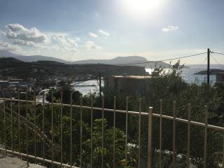 Almyrida Duplex,7 pers, 100 m de la plage, vue mer