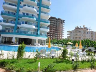 sea view 1 bedroom New apartment in Alanya, Mahmutlar