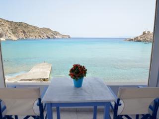Boat House on Firopotamos Beach, Milos, Plaka