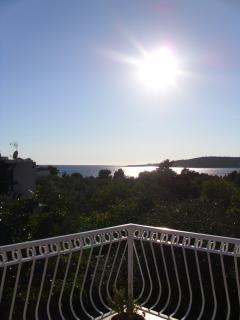 Terrace view W