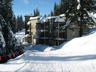 Alpinridge - Popular ground level slopeside condo (sleeps 7)