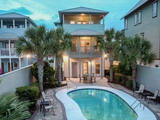 AQUASCAPE: Coastal Retreat with New Updates, Gulf Views, Private Pool, 5* Rated, Santa Rosa Beach