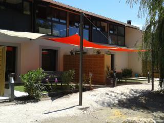 appartement neuf lumineux jardin terrasse, Monteux