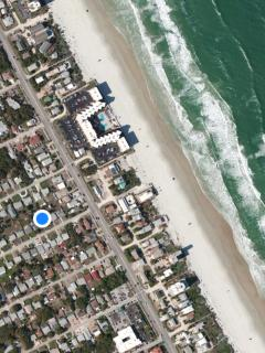 JANUARY 18' still available! Private Beach House w/pool, 4 houses from A1A!!!!!