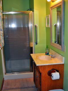 Master bath with shower!