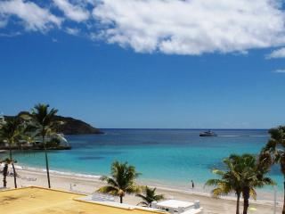 SEA FAN at Coral Beach Club... lovely 2 BR beach view villa in gated beachfront, Philipsburg