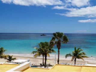 SEA FAN at Coral Beach Club... lovely 2 BR beach view villa in gated beachfront