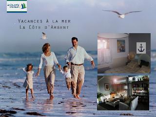 Maison d'hôtes à la mer La Cote d'Argent, Ronce-les-Bains