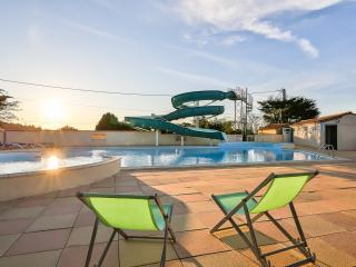 Mobile-home 4 places sur camping avec piscine, La Mothe Achard