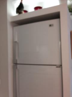 Big size fridge.