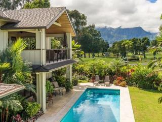 Majestic Vista Estate - has pool, great views, Princeville