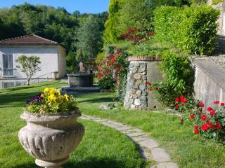 House and surrounding garden