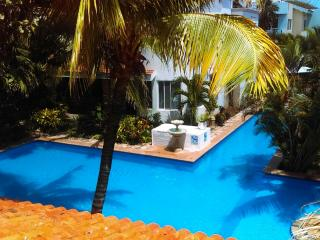 Beautiful Villa in Tropical Beachfront Condominium, Akumal