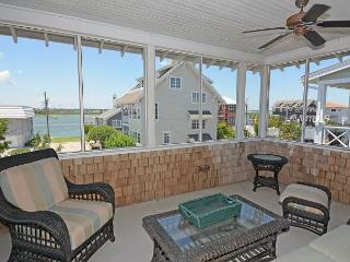 Lippard House -  Comfortable sound view home with shady porches and sunroom, Wrightsville Beach