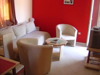 Cozy 1-bedroom apt for 4 with sea view- Harasho, Budva