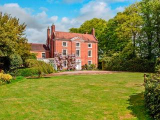 ISMERE HALL, detached, Grade II listed, open fires, parking, tennis court, in