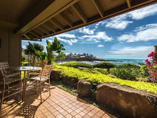 Whalers Cove 212 Beautiful oceanfront 2B/2B sleeps 6!  FREE mid-size car., Koloa