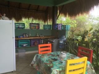 Mexican Outdoor Kitchen, ac, wifi, Apartment 4, Tulum