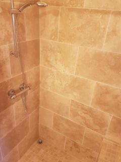 Large shower area