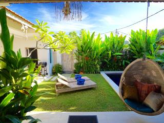 **PROMO** 3BR LUX DESIGN SEMINYAK POOL VILLA + GARDEN + WALK TO BEACH + CINEMA