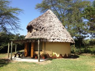 Kanini Thatched Rondavel Cottage at Malewa, Gilgil