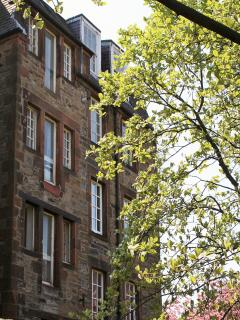 View of apartment from Dunbar's Close Garden