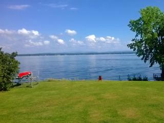 Lake - private beach