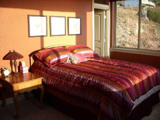 The Guest Suite with queen size bed