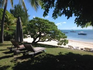 Beach House and Tropical Garden in Mauritius, Roches Noire