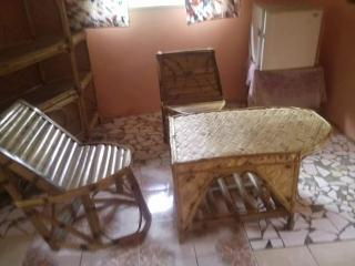 2 room apartment, bathroom, kitchenette, fridge and private veranda.