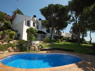 Villa El Olivo - green garden, private pool, wifi., Blanes