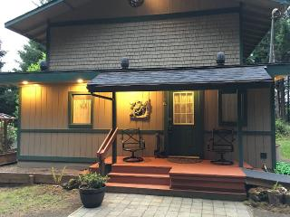 House In Secluded Forest Setting Near Old Town And Siuslaw Bridge