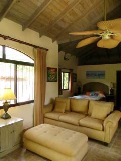 Full apartment living area