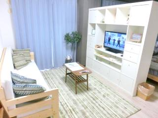 West Shinjuku.2 sgl bed+1 sofa bed