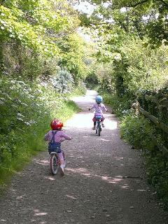 Cycle trail