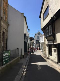 Fore Street, Shopping in Fowey