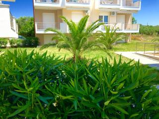 ATHOS BLUE NIKITI G3 (1 bedroom apartment with living room with 2 sofa beds)