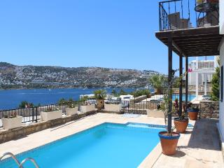 Joker villa with private pool and sea view, Gundogan