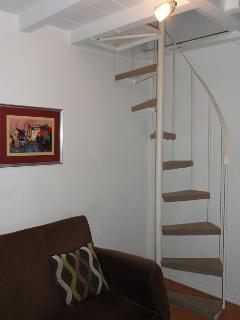 Stairway to Upper Loft