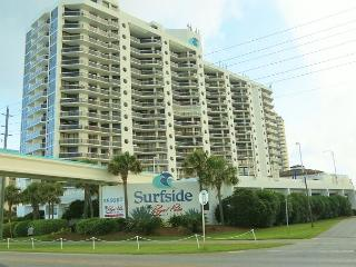 Surfside 1406, 2BR/2BA condo, just across the street from the beach!
