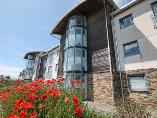 FISTRAL BEACH VIEWS 2 BED APARTMENT SLEEPS 4, Newquay